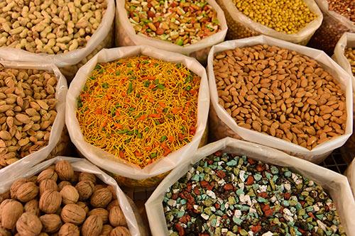 noten, zaden, zuidvruchten, hennepzaad, chiazaad, superfoods