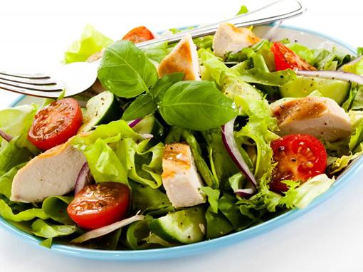 saladebar, lunch, maaltijdsalade, verse salade