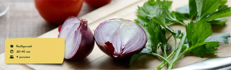 Recept: Aardappel-ovenschotel met tomaat en tonijn