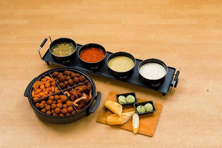 Ton Kanters - Catering: Hapjespan, Soepbuffet en stokbrood combinatie
