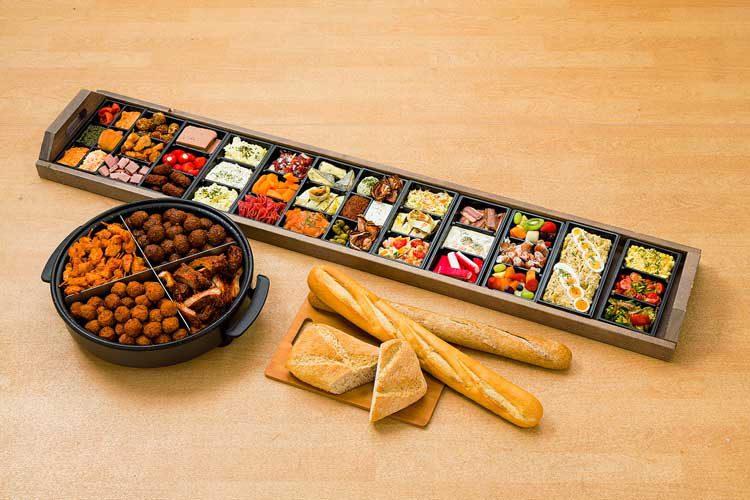 Ton Kanters - Catering: Hapjespan, Plateau en stokbrood combinatie