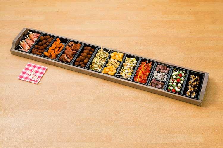Ton Kanters - Catering: Plateau's Hapjes & Tapas bestellen